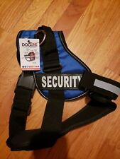 Dogline Unimax Security Dog Vest Harness Removable Chest Plate & Patches