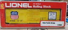 LIONEL UNION PACIFIC HI-CUBE BOXCAR  #6-9606 Original Box O scale