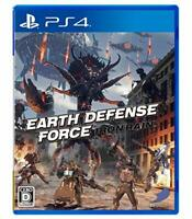 USED PS4 EARTH DEFENSE FORCE: IRON RAIN japan import