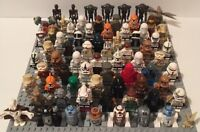 LEGO STAR WARS Minifigures - Random Lot of 4 Figures New/Used (see example pics)