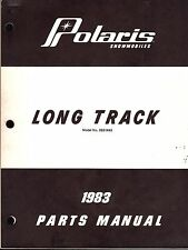 1983 POLARIS SNOWMOBILE LONG TRACK PARTS MANUAL (225)