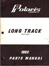 1983 POLARIS SNOWMOBILE LONG TRACK PARTS MANUAL (225)