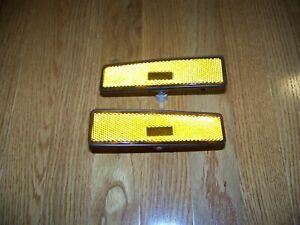 SUZUKI SIDEKICK GEO TRACKER FRONT (LH RH) DRIVER PASSENGER SIDE MARKER LIGHTS