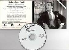 "SALVADOR DALI ""Radioscopie de Jacques Chancel"" (CD Digipack) 1999"