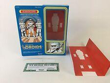 """custom Star wars droids 12"""" stormtrooper box + inserts"""