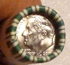 2012P ROOSEVELT DIME UNCIRCULATED SEALED ORIGINAL BANK WRAPPED ROLL N.F. STRING