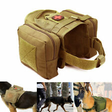 Tactical Molle Coat Harness K9 Police Dog Work Service Hunting T-Shirt for Dogs