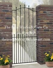 "MANOR IRON METAL SINGLE GARDEN GATE 6ft TALL x 40"" OPENING MADE TO MEASURE LARGE"