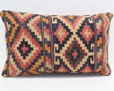 "Persian kilim pillow covers Hand woven pillow summer kilim area rugs 20""x12"" 40+"