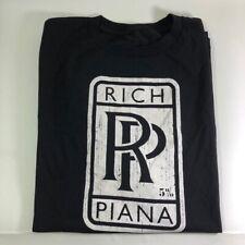 Rich Piana 5% Nutrition RP Shirt Size 2X-Large Black Color