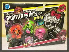 Monster High Minis 3-Pack TORALEI VENUS & Exclusive DRACULAURA