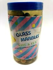 150 Glass Marbles In Jar Kids Toys R US, Grand Sticker Pack 16mm & 1 25mm 1987
