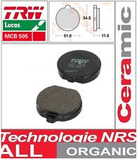 Jeu 2 Plaquette frein Avant TRW MCB505 Organic Kawasaki Z1300 79-89/ZG1300 84-89