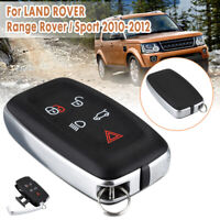 For LAND Range Rover/Sport 2010-2012 5 BTN Remote Key Fob Case Shell