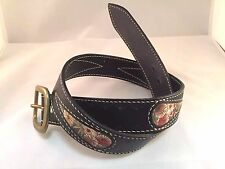 Genuine Leather Belt Japan Traditional KYOTO NINJA Handmade Original Craft 4