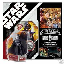 Star Wars 30th Anniversary Coin Album w/ Darth Vader Figurine NEW in Package