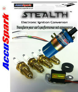 Triumph Spitfire 1500 Stealth 45D Electronic ignition AC12C plugs/Ballast coil
