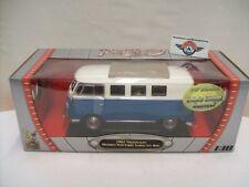VW T1 Microbus, blue/white,1962, Yat Ming 1:18, OVP