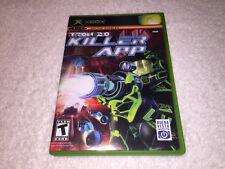Tron 2.0: Killer App (Microsoft Xbox, 2004) Original Complete w/Reg Card Mint!