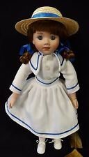 """Young Girl """"Patricia"""" Porcelain Doll by Seymour Mann - 18"""" Tall Nm-Mt- Lmt."""