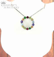 Chrome Diopside Sterling Silver Fine Necklaces & Pendants
