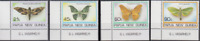 PP209 - PAPUA NEW GUINEA STAMPS INSECTS BUGS FLORA BUTTERFLIES MNH