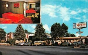 ELY, Nevada NV   BRISTLECONE MOTEL  Room View  ROADSIDE  White Pine Co  Postcard