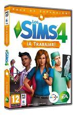 LOS SIMS 4 THE SIMS 4 A TRABAJAR TEXTOS EN CASTELLANO NUEVO PRECINTADO PC