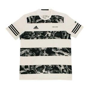 adidas UFB Graphic Tee T-Shirt Weiss Schwarz