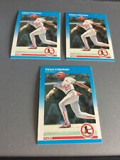 1987 Fleer BB Vince Coleman 290-3- Excellent cards in lot