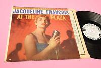 Jaqueline Francois LP at The Plaza Orig US 1959 EX+ Columbia 2 Eyes Promo Tooppp