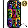 Custom Case for iPhone 6S 7 Plus+Samsung Galaxy S6 S7+STYLUS-Dinosaur Pop Art