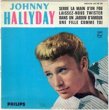 JOHNNY HALLYDAY Serre la main d'un fou 1965 Repress pochette papier SPP Paris