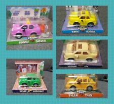 Chevron Cars Lot of 5 Danni Driver Tina Turbo Leslie LX Kelly Kompact Tyler Taxi