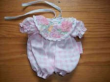 Vêtement Corolle tenue mini calin rose collection de 1997