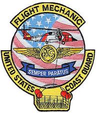 Flight Mechanic Hh-60 soft flag hoist basket W4545 Uscg Coast Guard patch helo