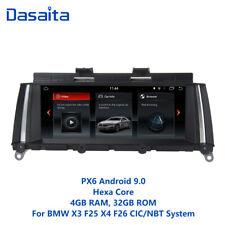 """Dasaita 8.8"""" AUTO Raido Android 9.0 per BMW X3 X4 F25 F26 NAVIGAZIONE GPS Stereo"""