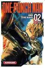 manga One Punch Man tome 2 Anime Yusuke MURATA Seinen Shonen VF Kurokawa ワンパンマン