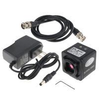 1200TVL HD C-mount Industry CCD Camera AV TV Microscope Color Video Recorder