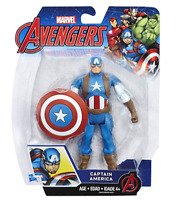 Avengers Marvel Captain America 6-in Basic Action Figure - BRAND NEW!!!