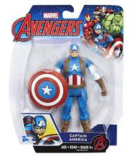 Avengers Marvel Captain America 6-in Basic Action Figure - BRAND NEW!!!