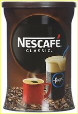 Nescafe Classic Instant Coffee Hot or Cold Greek Frappe - 1 Pack of 200g