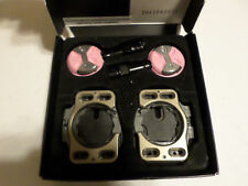 NEW Speedplay Light Action Chromoly Pedal Road Bike Clipless PINK Cromoly Chrome