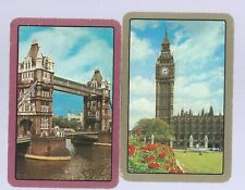 Vintage Playing Swap Card   x 2 PLACES