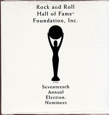 rock & roll hall of fame 17Th election cd  sex pistols ramones ac/dc patti smith