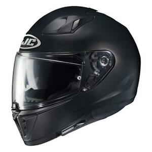 NEW HJC I70  Motorcycle Helmet - Semi Flat Black from Moto Heaven