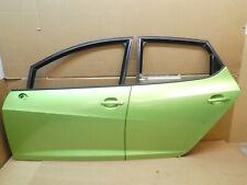 SEAT IBIZA 6J Türen hinten vorne links ganze Seite Fahrertür LIMA Grün LS6Q