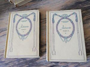 ALEXANDRE DUMAS Ascanio tome 1 et 2 édition Nelson 1930