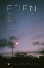 "Eden / Verite ""Vertigo World Tour"" 2018 Houston Concert Poster - Alt Rock / Pop"