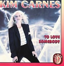 Kim Carnes - To love somebody (CD)